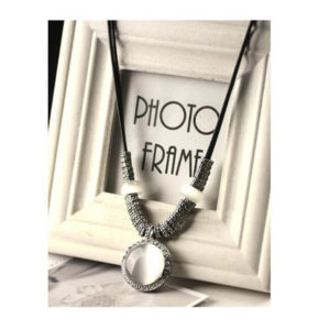 pendant silver necklace shopping online in pakistan
