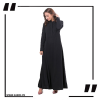 Black Maxi with A Line Style black