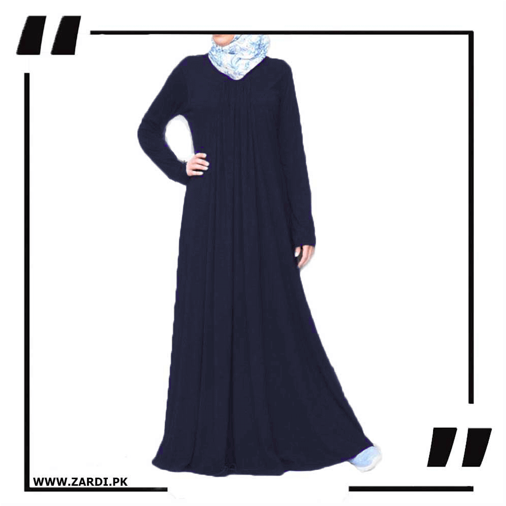 Flared Simple Dress Abaya
