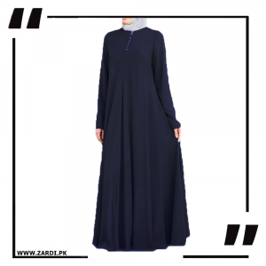 Navy Airline Maxi with Front Platelets
