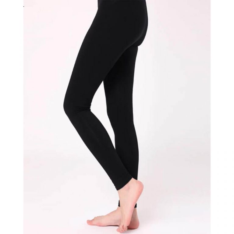 Black Stretchable Leggings Lycra Tights