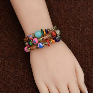 MultiColor Bracelet Handmade For Her
