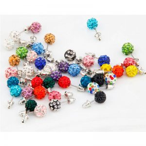 20 Pair Stud Earring Set - Multi AS39