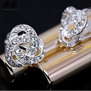 Silver Diamate Fashion Earring