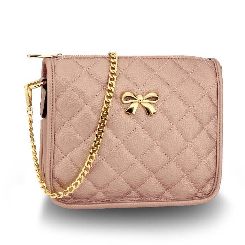 champagne Cross Body Shoulder Bag