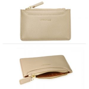 Nude Anna Grace Zip Coin Pouch