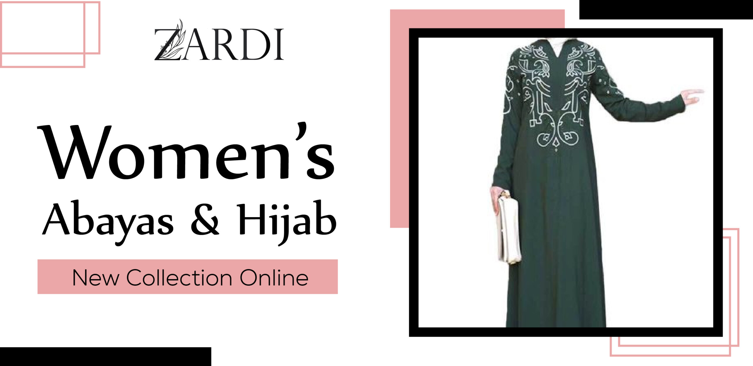 Women Abayas & Hijab New Collection Online