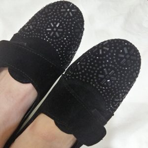 Black Shoes With Studs