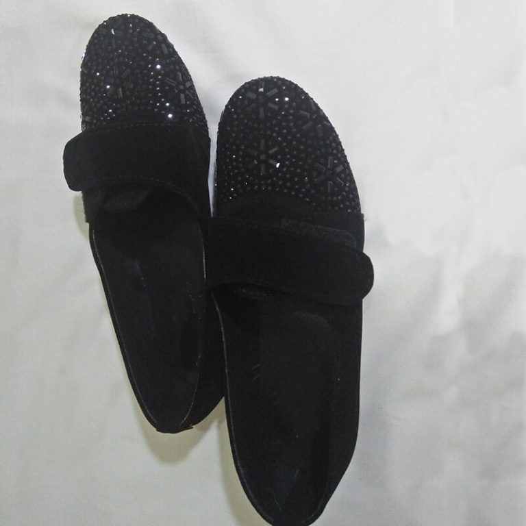 Ladies Shoes Black Shoes With Studs