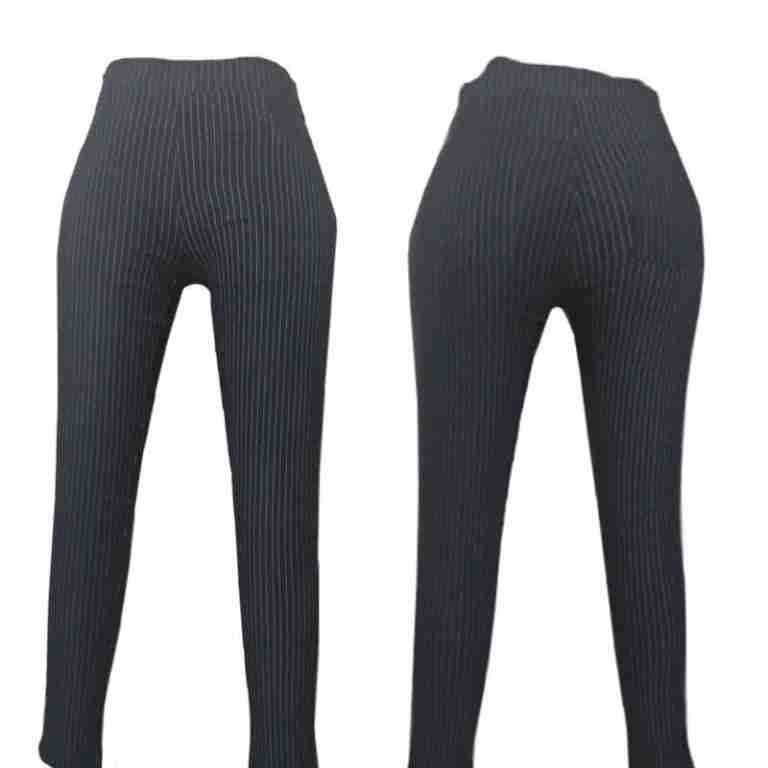 Striped Cotton Pant Stretchable Skinny