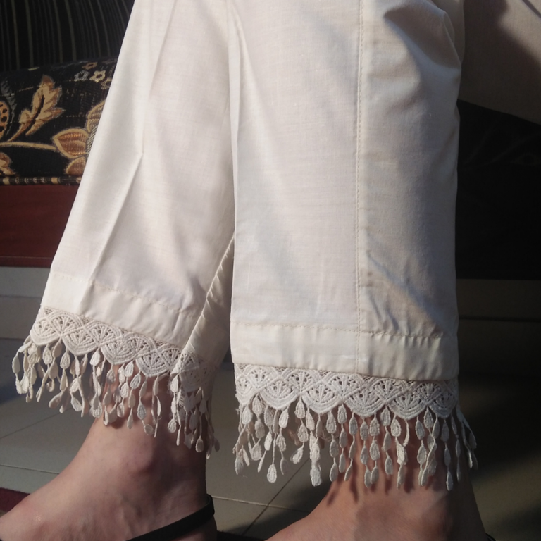 Trouser for Women with Lace 1