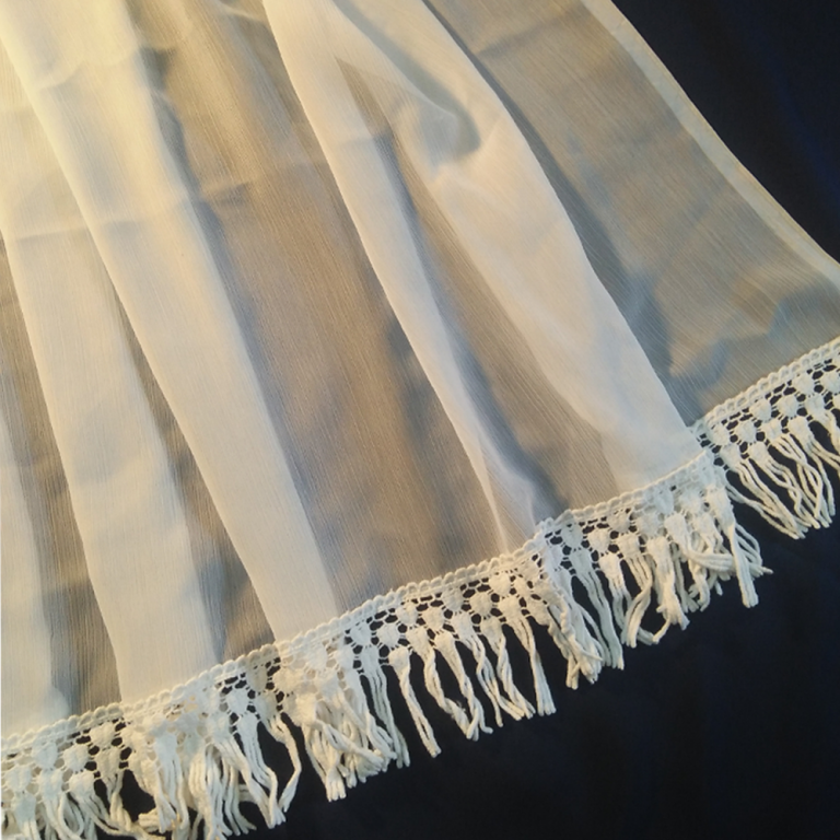 Dupatta With Tassel 1