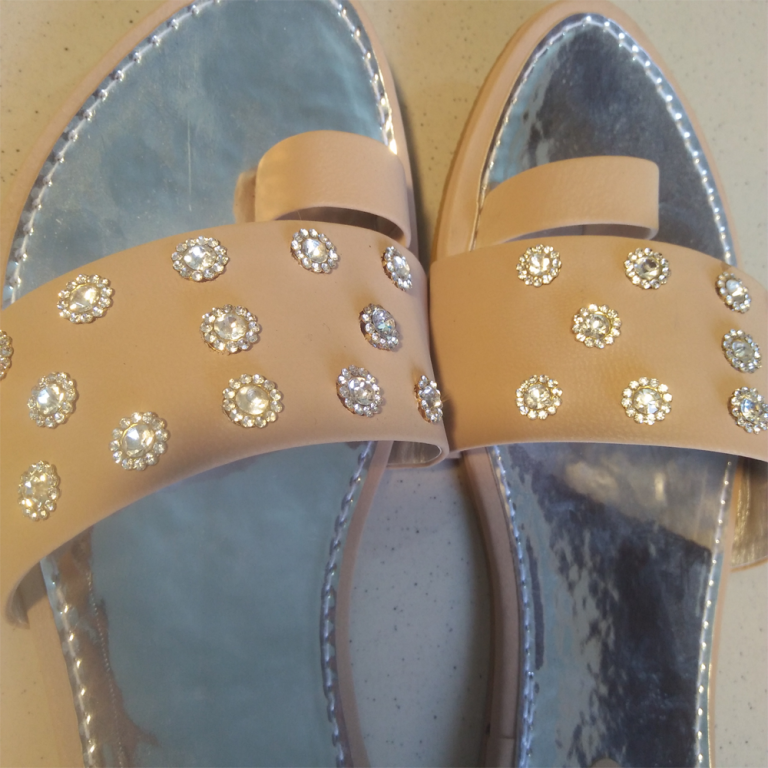 ladies shoes Fancy Slipper With Stone