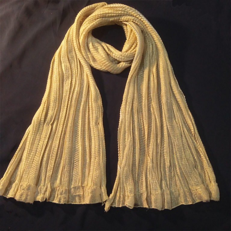 Gold Crush Dupatta Shinny 1