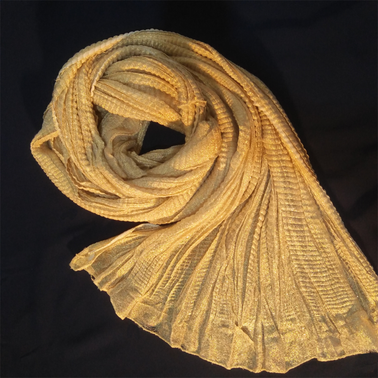 Gold Crush Dupatta Shinny 3