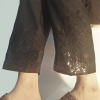 Black Embroided Trouser Pant 2