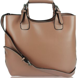 Nude Ladies Fashion Tote Handbag