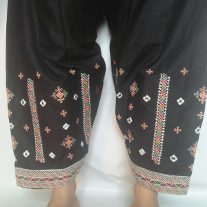 Embroided Shalwar For Women Ladies With Mirror Work Cotton Lawn For Summer