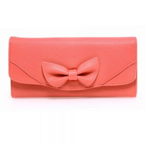 Pink Bow Tie Purse