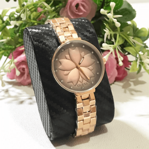 Guess Rose Gold Chain Strap Watch for Women