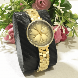 Guess Gold Chain Strap Watch for Women