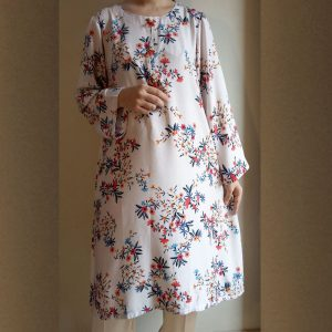 Printed Paisley Kurti Top For Women