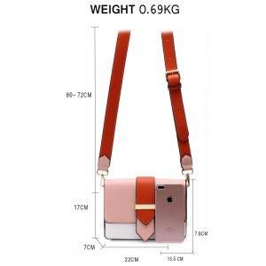 Flap Cross Body Shoulder Bag