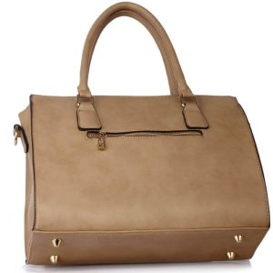 Tote Bag With Polished Hardware
