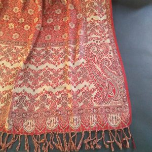 Jaquard Warm Shawl For Women New Winter Collection