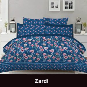 3 Piece Double Bedsheet With 2 Pillowcases