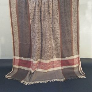 Winter Warm Woolen Check Shawl For Women Ladies - Large 2.5 yards - ZSH57 1