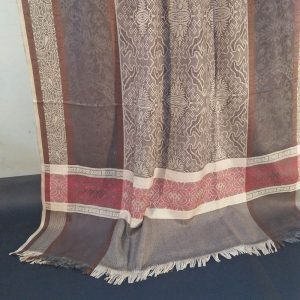 Winter Warm Woolen Check Shawl For Women Ladies - Large 2.5 yards - ZSH57 2