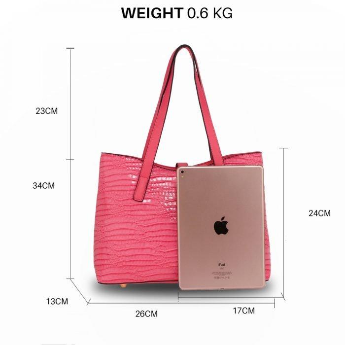 Women Bags-AG00710_Pink
