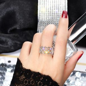 Adjustable Ring For women - Silver