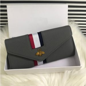 High Quality Wallet Grey