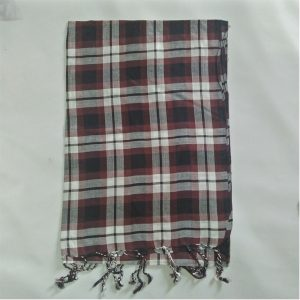 Check-Print-Scarfs-For-Women-Chocolate