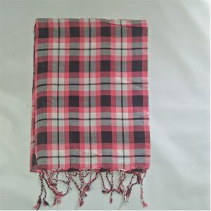 Check-Print-Scarfs-For-Women-Pink