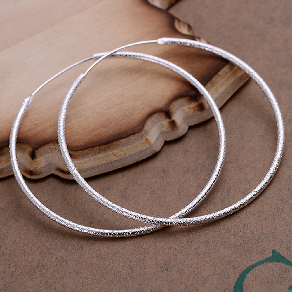 Hoop Earring For Women - Silver