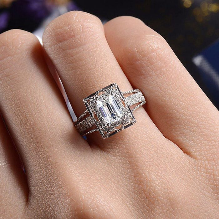 AAA Zircon - Ring For Women High Quality Silver