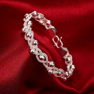 AAA Zircon - Bracelet For Women - Silver