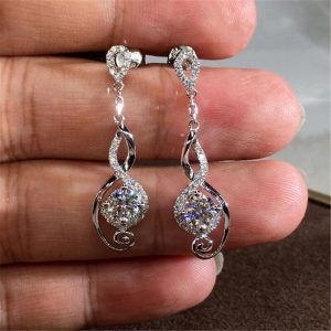 Silver Plated - Drop earring For Women - Silver