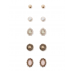 Forever 21 - Faux Stone Stud Earring Set