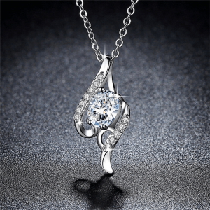 Sterling Silver Filled Necklace Silver
