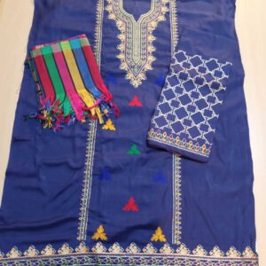 3 Piece - Unstitched - Embroided Susi Dress