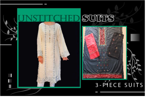 Unstitched Suits For Women