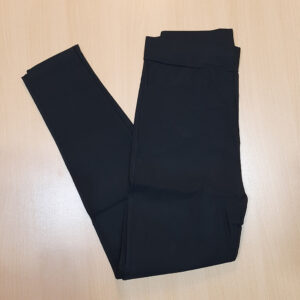 Black Jeggings Jeans Stretchable Cotton With Pockets
