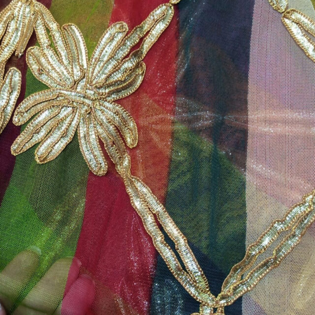 Multi Gota Work Dupatta For Wedding party