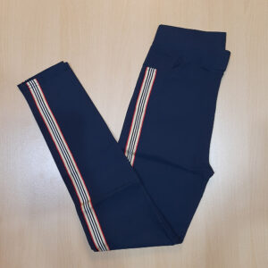 Navy Jeggings Jeans Stretchable Cotton With Pockets ZP16-