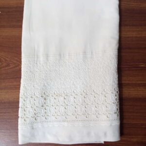 Unstitched Embroided Trouser Fabric