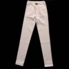 White Cotton Pant Stretchable For Women Ladies
